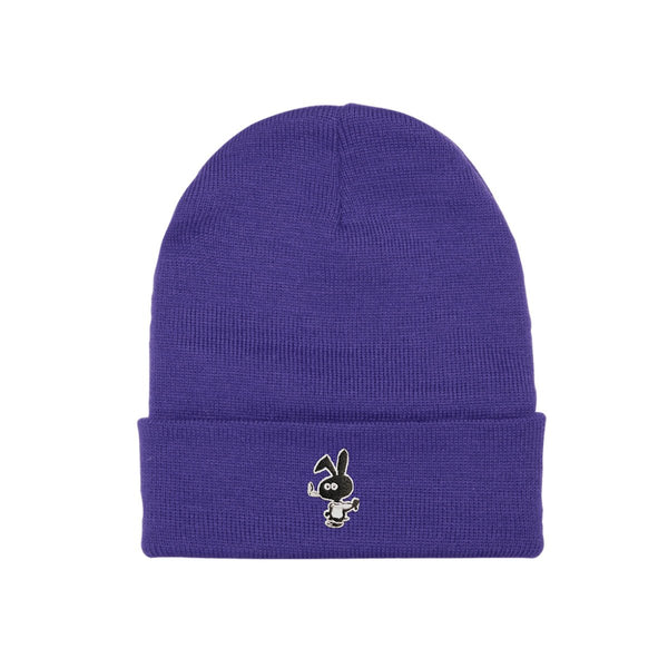 Cold Bunny Beanie (Purple) available at off the hook montreal