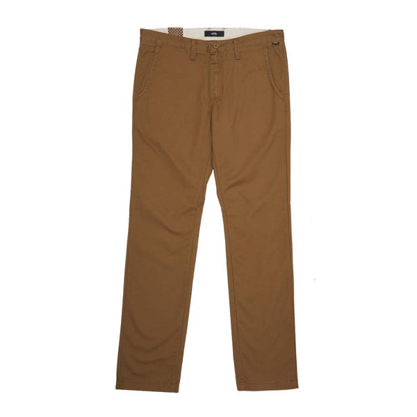 vans authentique chino stretch dirt brown tan off the hook oth skate streetwear