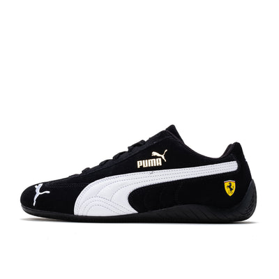Puma Ferrari Speedcat - Black / White - Side - Off The Hook Montreal