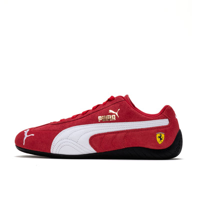 Puma Ferrari Speedcat - Rosso Corsa / White - Side - Off The Hook Montreal