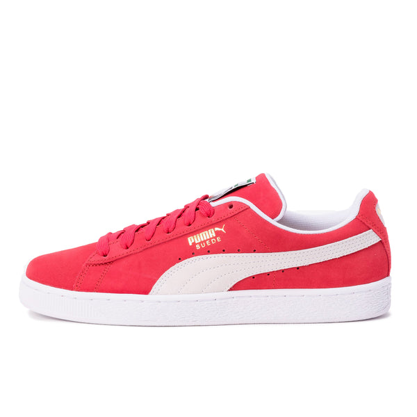 Suede Classic+ Red / White