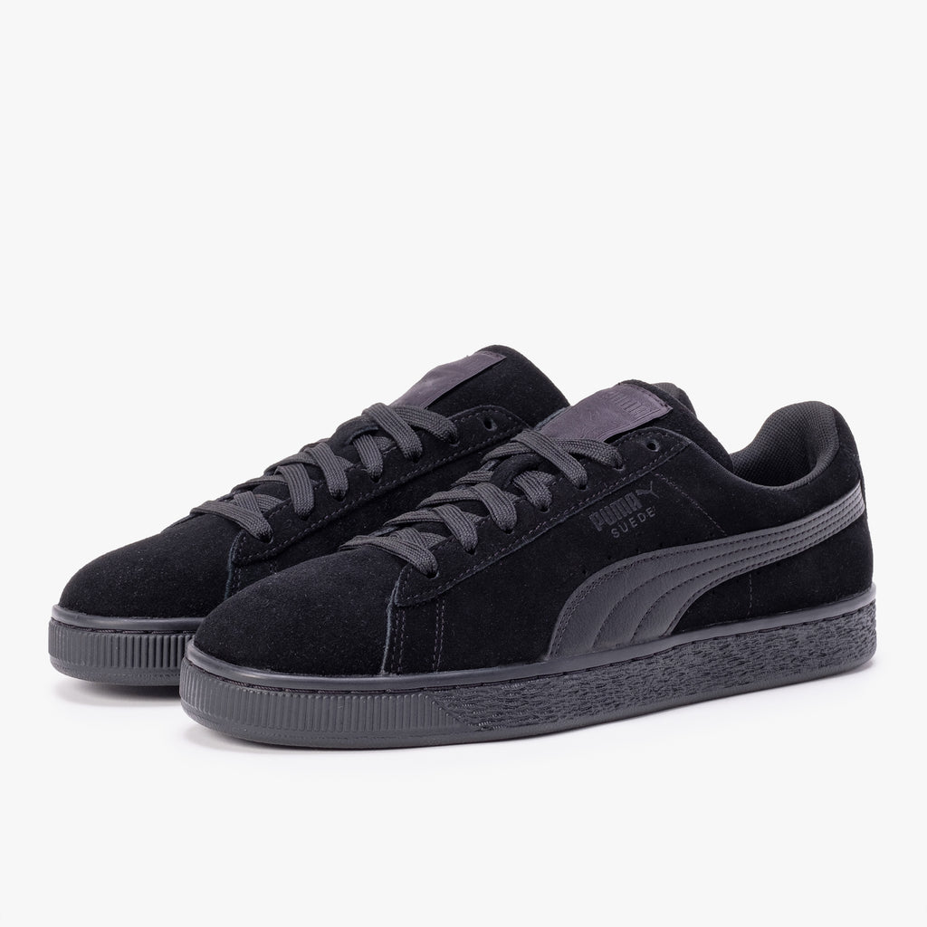 Puma 35632801 Suede Classic Black - 45deg - disponible à off the hook montreal