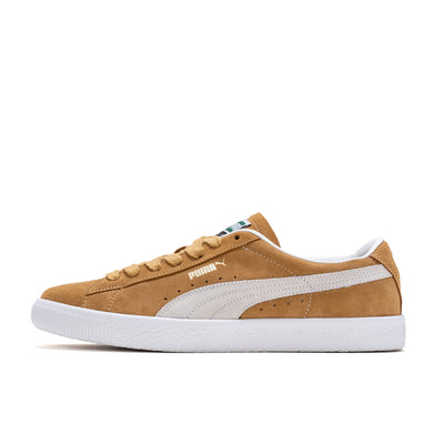 Puma Suede Vintage - Mustard / White - Side  - Off The Hook Montreal
