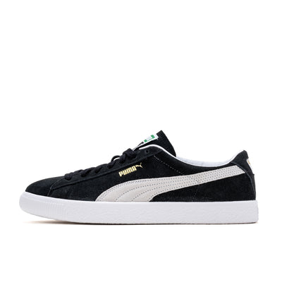 Puma Suede Vintage - Black / White - Side  - Off The Hook Montreal