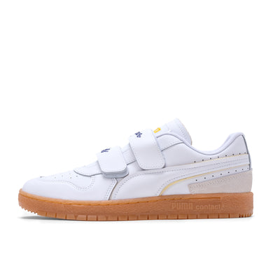 PumaxKIDSUPER Ralph Samspon 70 - White / Gum - Side - Off The Hook Montreal