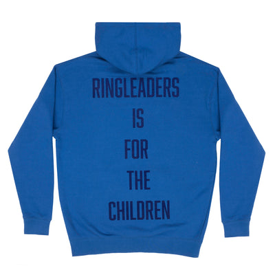 Ringleaders Is for The children hoodie - blue - Back - Off The Hook Montreal