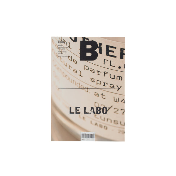The B Magazine issue on Le Labo features: A glimpse at Grasse, words from the co-founder Eddie Roschi, the characteristics of each fragrance, their collaborations and more. Product code: NDH.B65LABO issue 65 off the hook oth streetwear boutique canada montreal publications