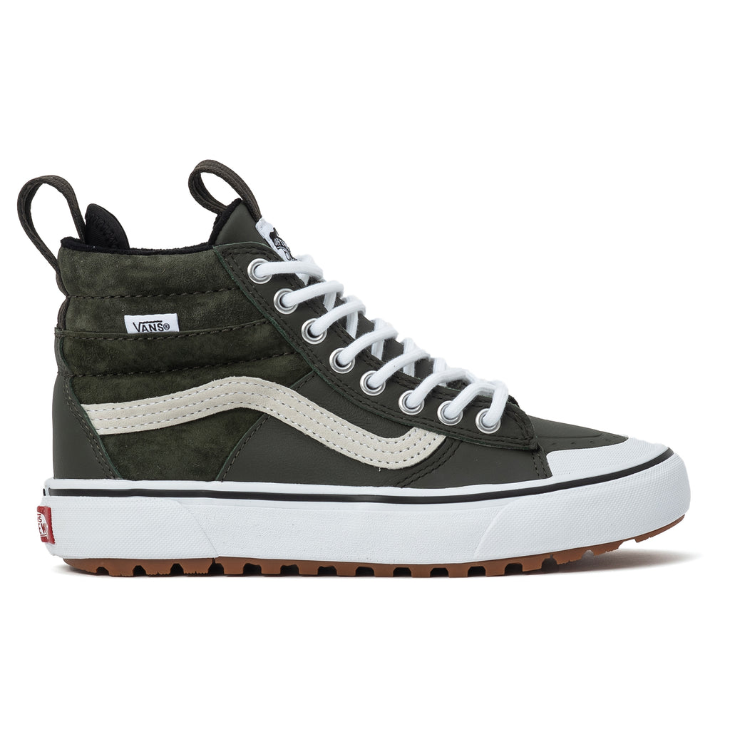 vans sk8-hi mte 2.0 dx forest green true white femmes sneakerboot boot winterized waterproof off the hook oth patin de streetwear