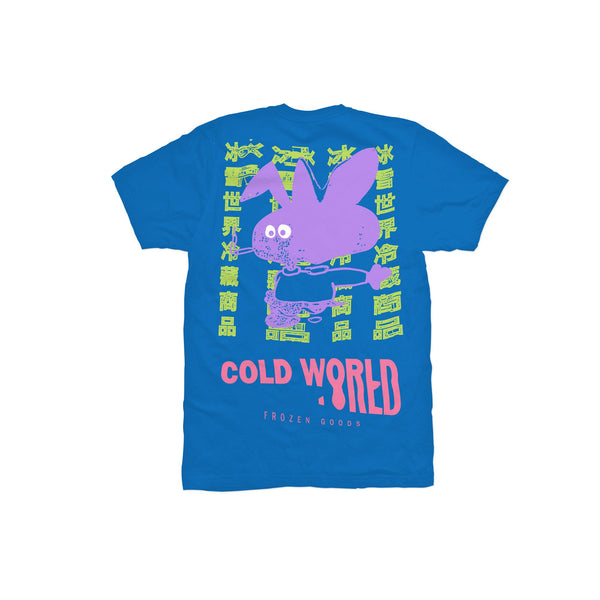 CWFG Cold Bunny Tee - Blue - Back - Off The Hook Montreal