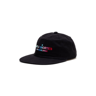 40s General Text Logo Hat - Black - Front - Off The Hook Montreal