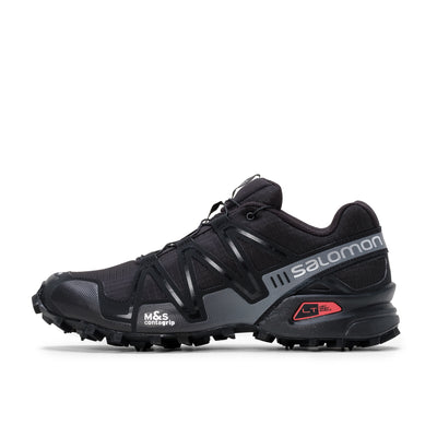 Salomon Speedcross 3 ADV - Black / Black / Quick Shade - Side - Off The Hook Montreal