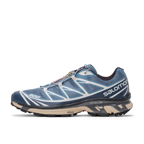 Salomon XT-6 ADV - Copen Blue / Mood Indigo / Lunar Rock - Side - Off The Hook Montreal