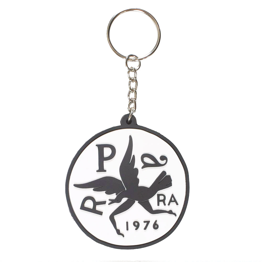 This eye-catching key chain sports a unique by Parra design on both of its sides.   Product code: 42480  by parra upside down bird off the hook oth canada streetwear boutique accessory