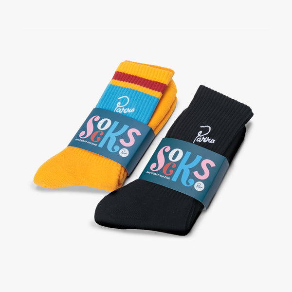 By Parra Crew Socks 4Pack - Display - Off The Hook Montreal