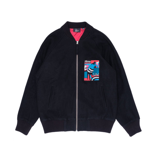 By Parra Bar Messy Wool Jacket - Front - Off The Hook Montreal