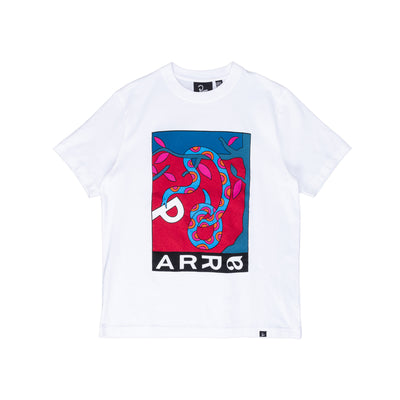 By Parra Eve's Garden T-Shirt - White - Front - Off The Hook Montreal #color_white