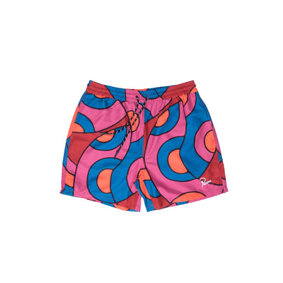 ByParra Serpent Pattern Swimshorts - Front - Off The Hook Montreal
