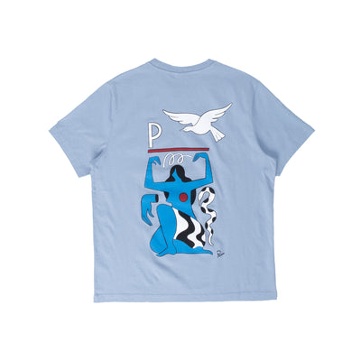 By Parra Mother Nature T-Shirt - Dusty - Back  - Off The HOok Montreal