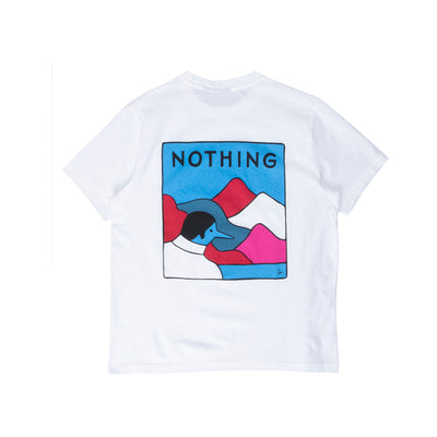 By Parra Nothing T-Shirt - White - Back - Off The Hook Montreal #color_white