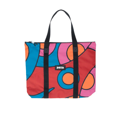 By Parra Serpent Pattern Tote Bag  - Front - Off The Hook Montreal