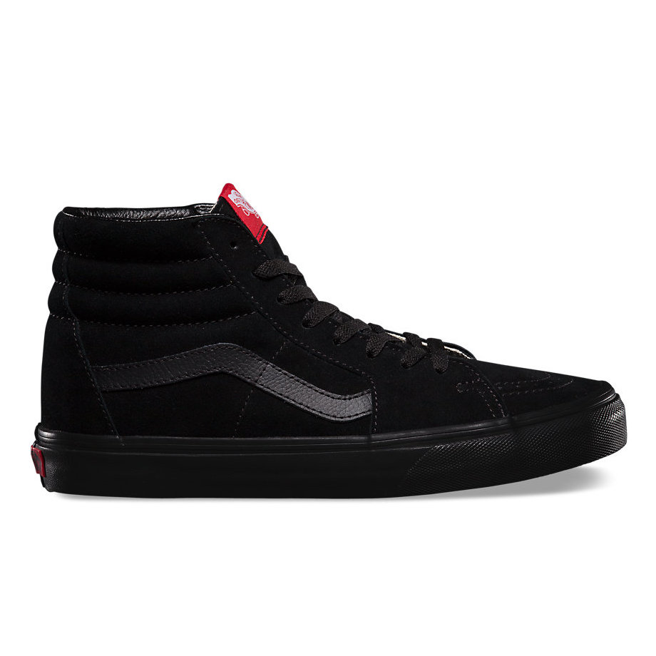 vans canvas sk8-hi sk8 hi noir triple off the hook oth chaussures de skate sneaker streetwear
