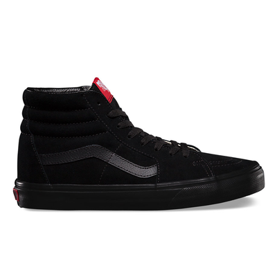 vans canvas sk8-hi sk8 hi black triple off the hook oth skate shoe sneaker streetwear