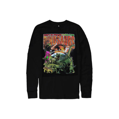 Dinosaurs Long Sleeve available at off the hook montreal