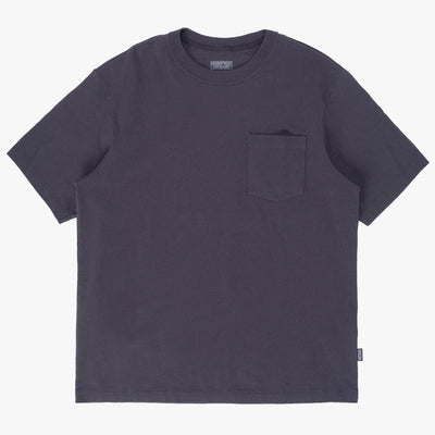 Patagonia M Organic Cotton Midweight Pocket Tee - Black - Front - Off The Hook Montreal