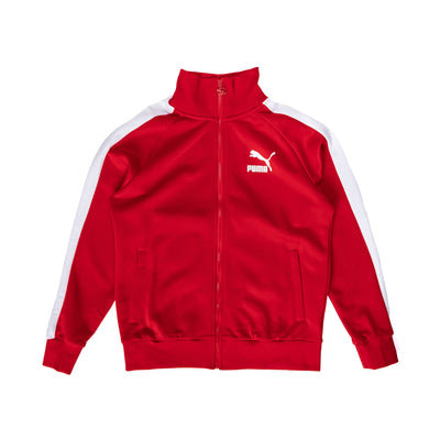 Puma Iconic T7 Track Jacket - High Risk Red - Front - Off The Hook Montreal #color_high-risk-red