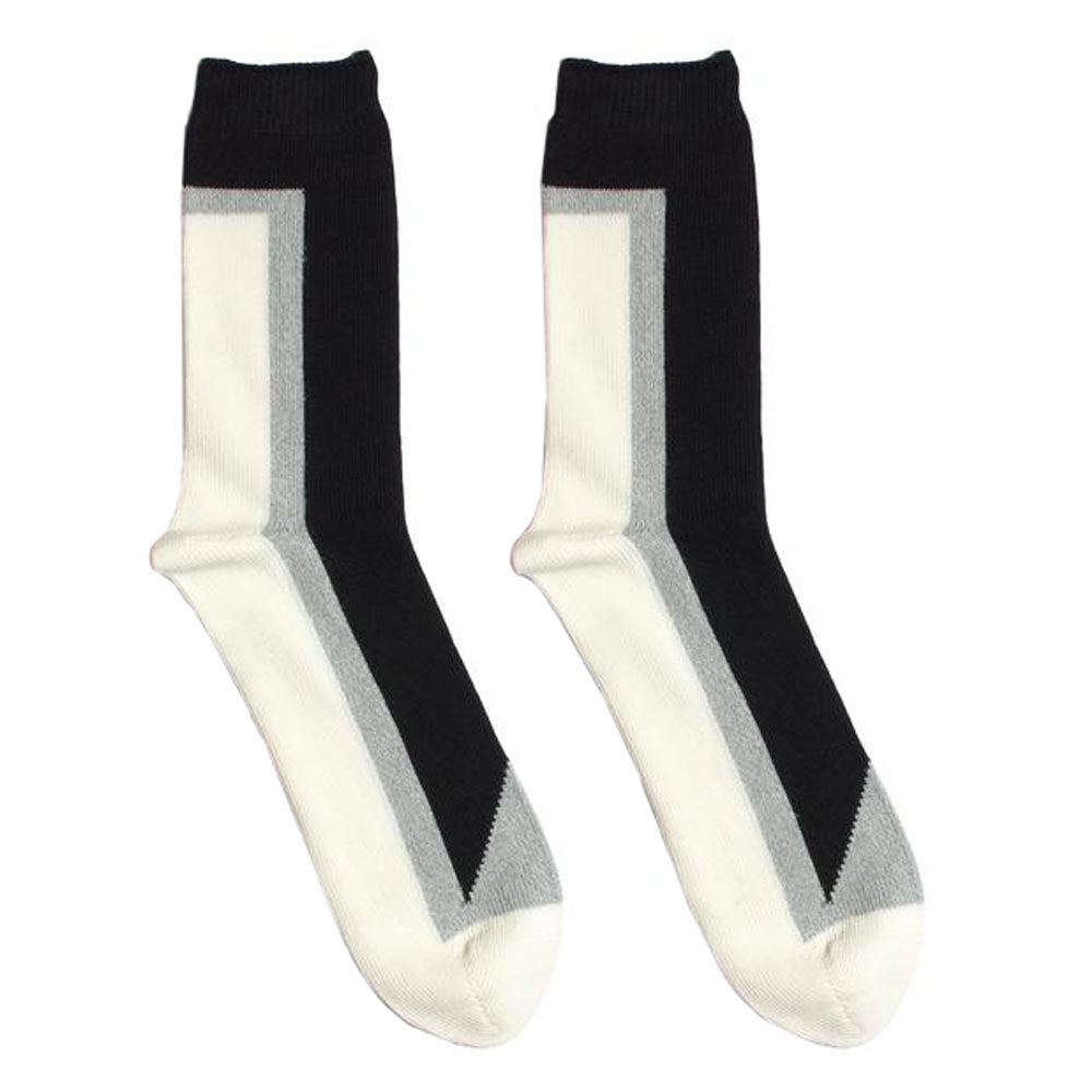 N/A 5514004 Seven Hi-Ankle Socks Black - side view - available at off the hook montreal
