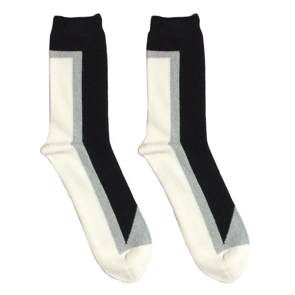 N/A's Seven socks boast custom cotton blended yarns, and are constructed with 105 needle Intarsia knit.  Product code: 5514004 black off the hook oth streetwear boutique canada montreal