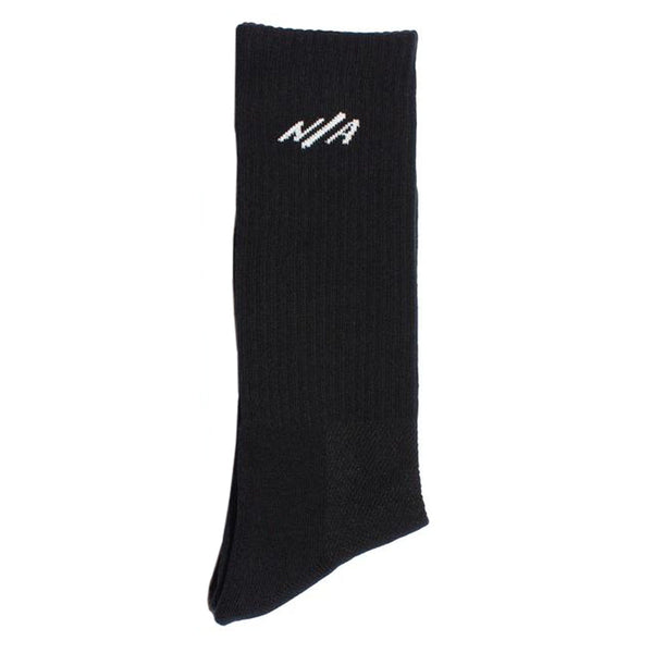 Ten Mid-Calf Socks Black