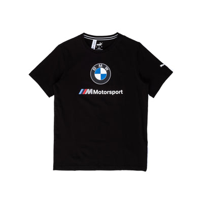 Puma BMW Logo Tee - Black - Front - Off The Hook Montreal