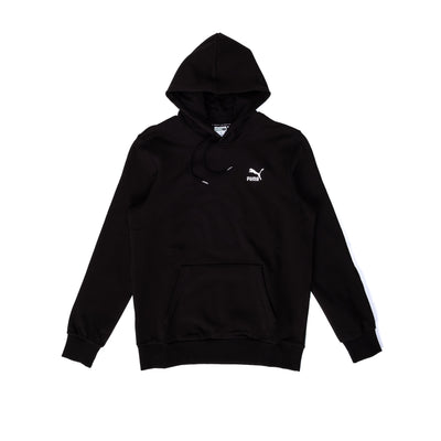 Puma Classics Embroided Hoodie TR - Black - Front - Off The Hook Montreal #color_black