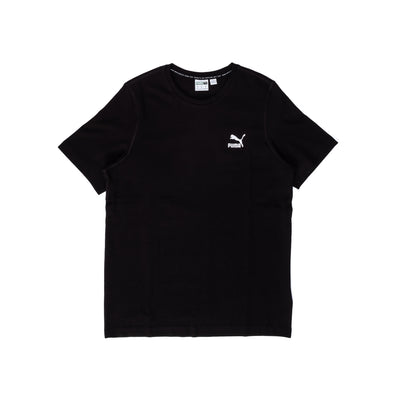 Puma Classic Embroided Tee - White - Front - Off The Hook Montreal #color_black