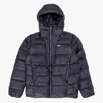 Patagonia Roy Down Hoody - Black - Front - Off The Hook Montreal