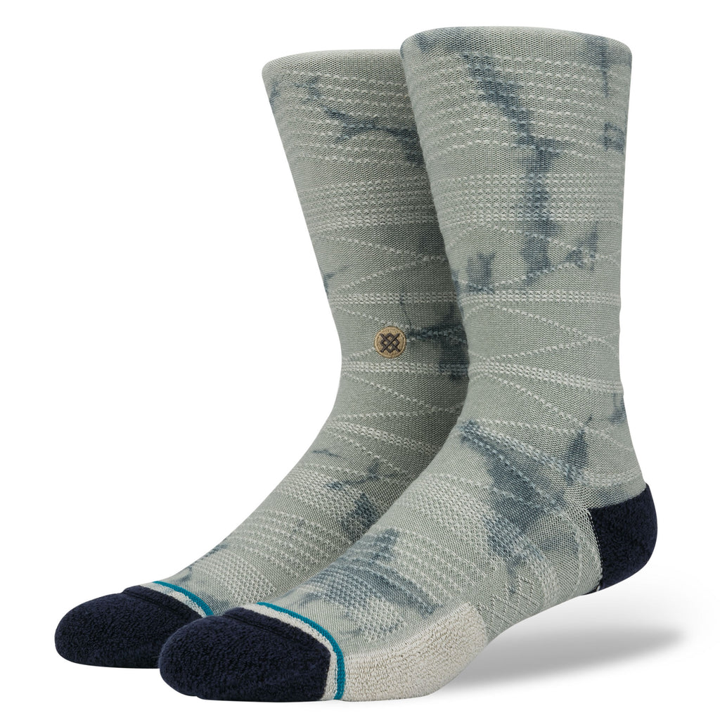 Stance Life East Dorado Socks - Grey - Display - Off The Hook Montreal