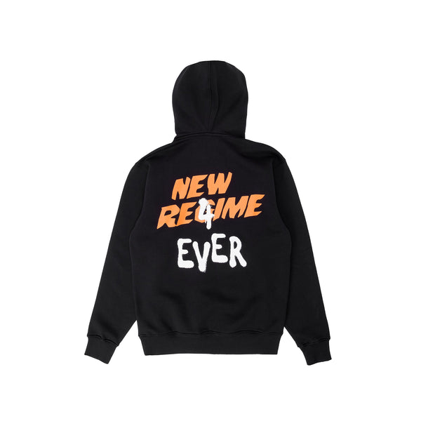 ANR New World Order Hoodie - Black - Back - Off The Hook Montreal