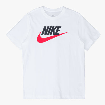 Nike Sportswear T-Shirt - White / Red - Front - Off The Hook Montreal