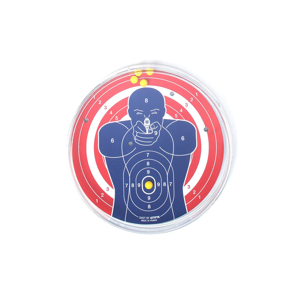 For the pretend gangster you think you are, stay peaceful and take your anger out on this gun-less target game.  Product code: AT30296 Target Game off the hook oth streetwear boutique canada montreal accessory