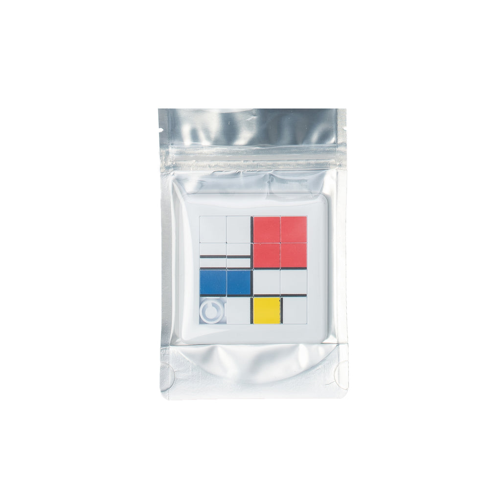 For the nostalgics and art fiends only! Perfect to pretend you're creating your own masterpiece, and hey maybe you can even frame it after.  Product code: AT30372 Mondrian Game off the hook oth streetwear boutique accessory canada montreal