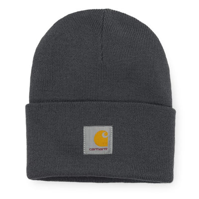 Carhartt WIP Acrylic Watch Hat - Blacksmith - Front - Off The Hook Montreal