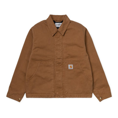 Carhartt WIP Arcan Jacket Hamilton Brown front available at off the hook montreal