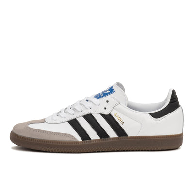 Adidas Samba OG - White/Black - Side - Off The Hook Montreal