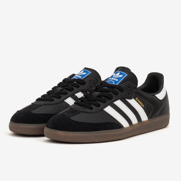 Adidas Samba OG - Black/White/Gum - 45deg - Off The Hook Montreal