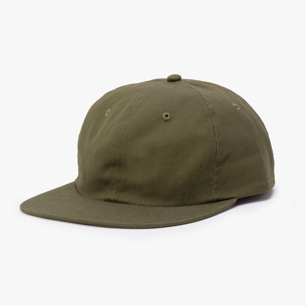 BATHER Six Panel Hat - Green - 45deg - Off The Hook Montreal