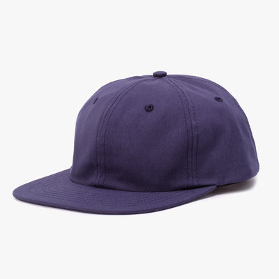BATHER Six Panel Hat - Navy - 45deg - Off The Hook Montreal