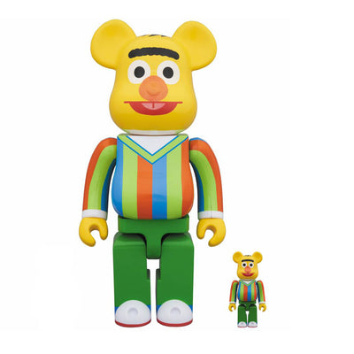 be@rbrick medicom bert sesame street 400% 100% set off the hook oth art toy streetwear japanese montreal canada boutique bearbrick