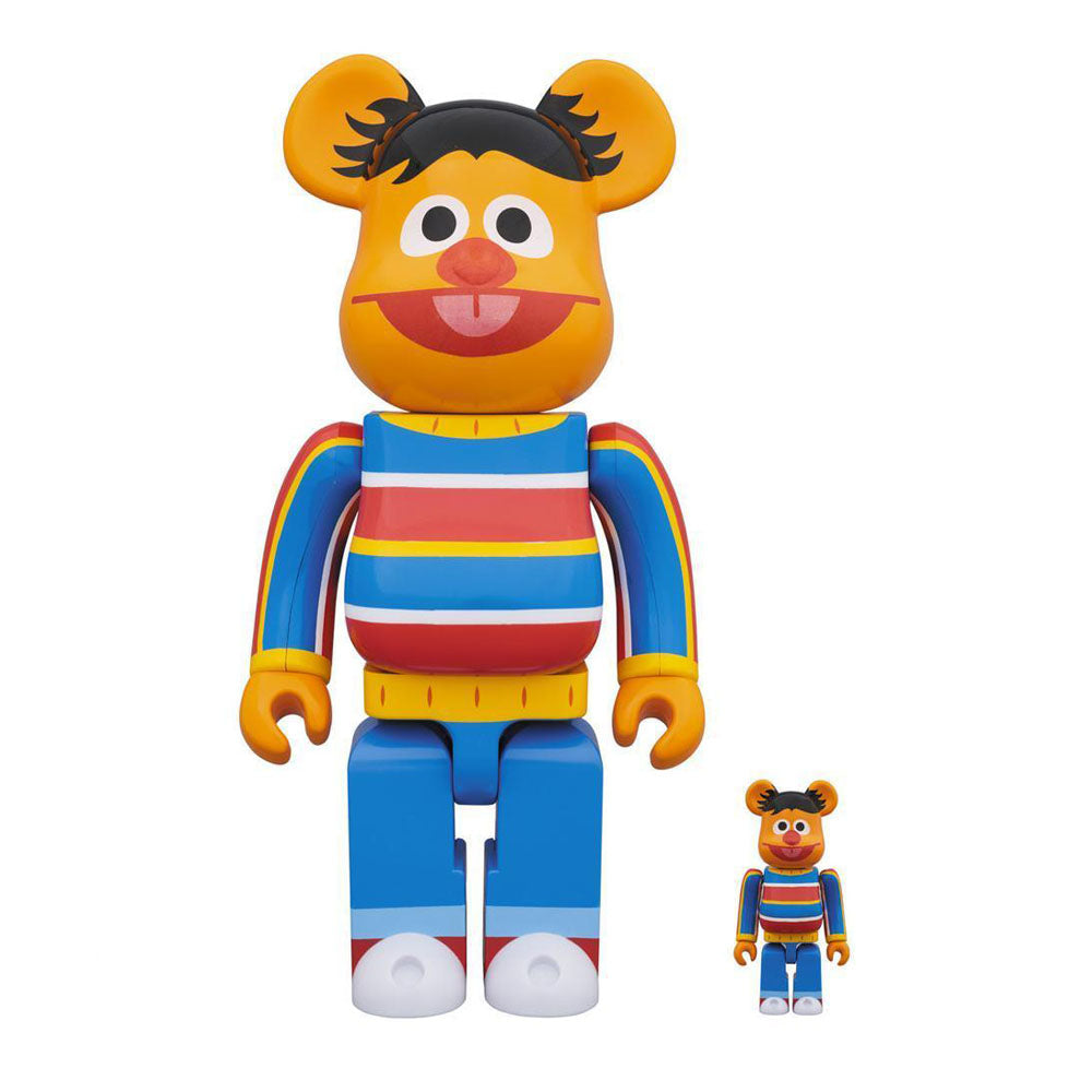 be@rbrick medicom ernie sesame street 400% 100% set off the hook oth art toy streetwear japanese montreal canada boutique bearbrick