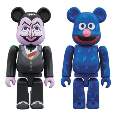be@rbrick medicom count von grover 2 two pack 100% off the hook oth art toy streetwear montreal canada boutique bearbrick